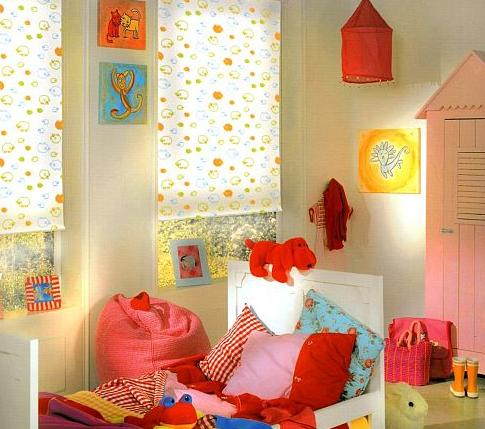 Оформляем детскую: шторы или жалюзи?