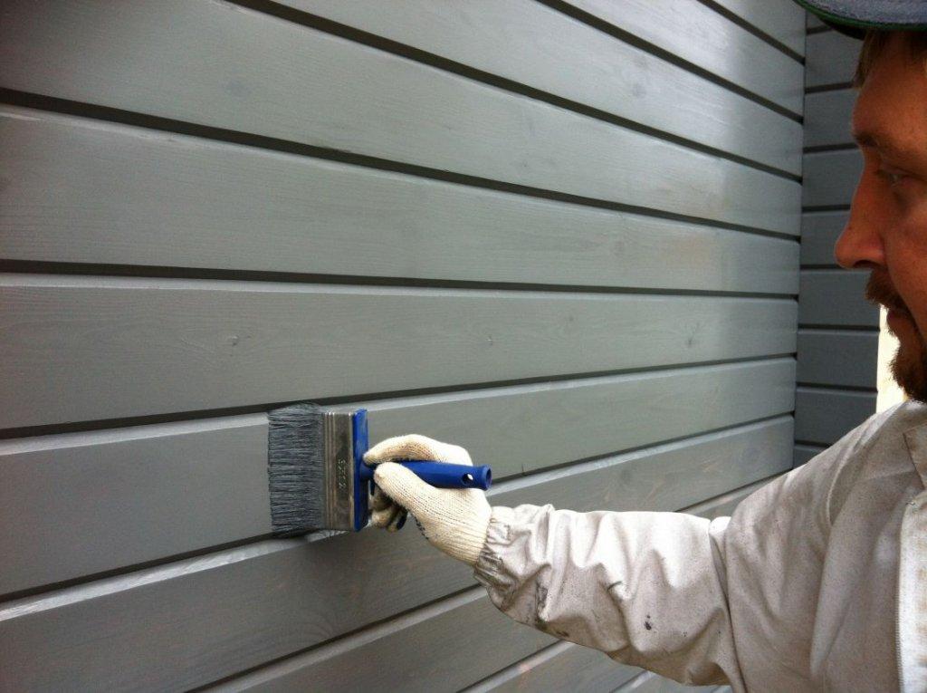 Покраска фасада: техника, советы и рекомендации