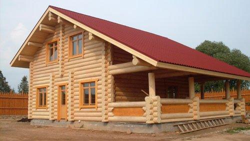 Какие использовать материалы в строительстве деревянного дома