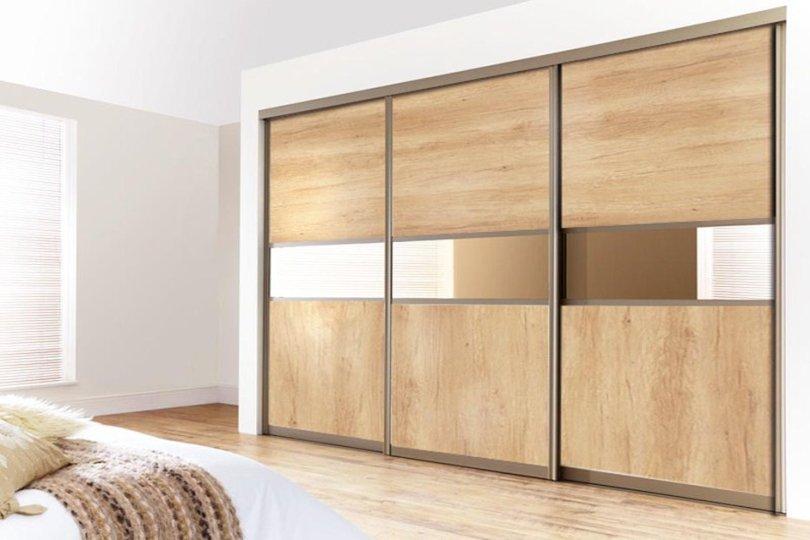 Современный шкаф-купе: вид сбоку