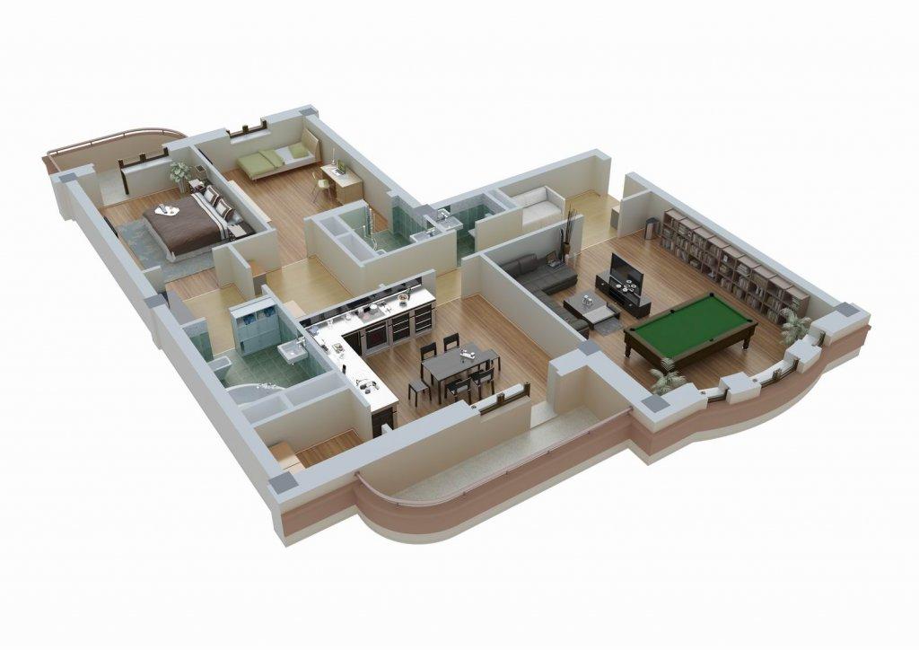 Удобная планировка квартиры