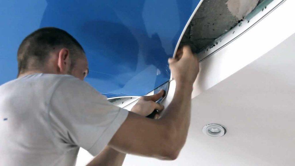 Натяжные потолки – идеальное решение при обустройстве современного интерьера