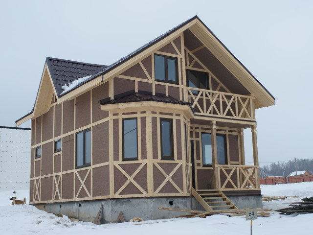 Каркасные дома: новое слово в строительстве