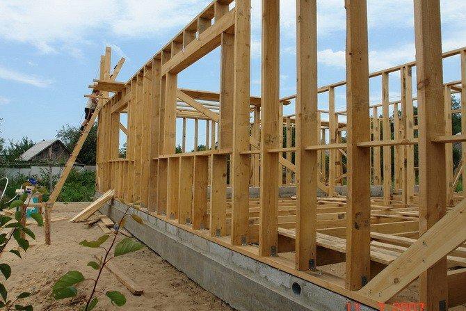 Строительство каркасного дома 6х6 своими руками от а до я