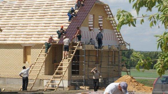 Строительство коттеджей – преимущества