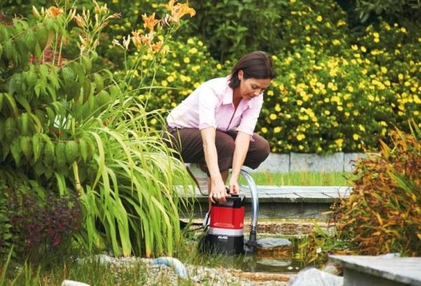 Садовый насос АЛКО побеждает в борьбе с засухой и затоплениями