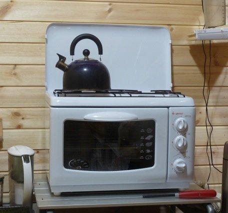 Как выбрать плиту для дачи. Оптимальный вариант