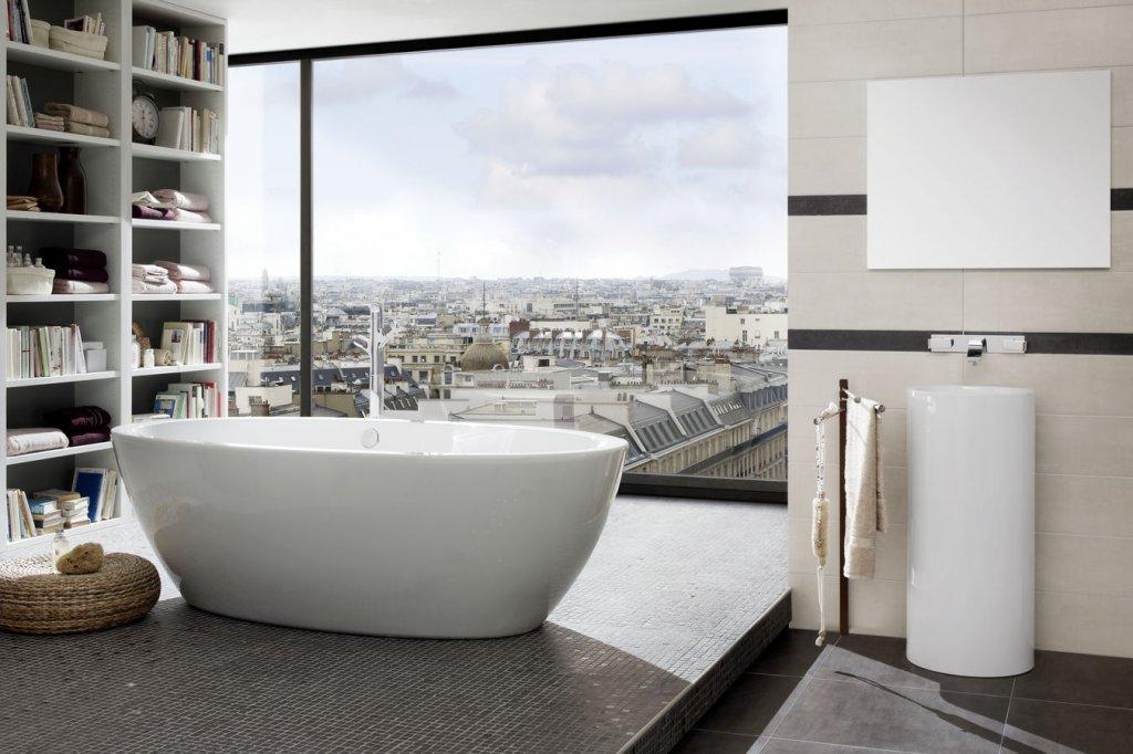 Преимущества отдельностоящих ванн