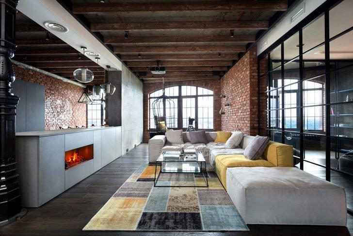 Интерьер в стиле «loft»