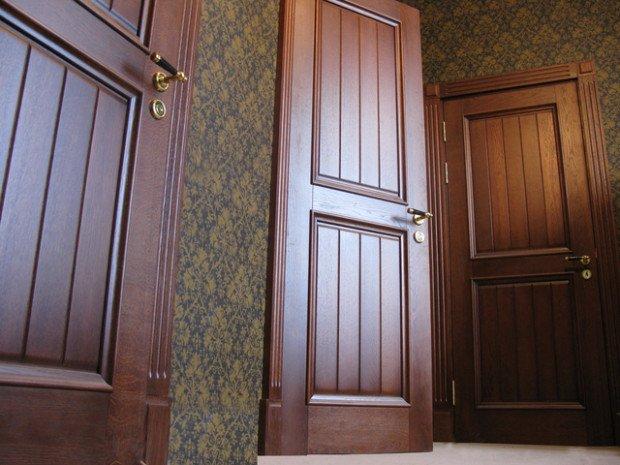 Межкомнатные двери из массива дерева купить в Москве
